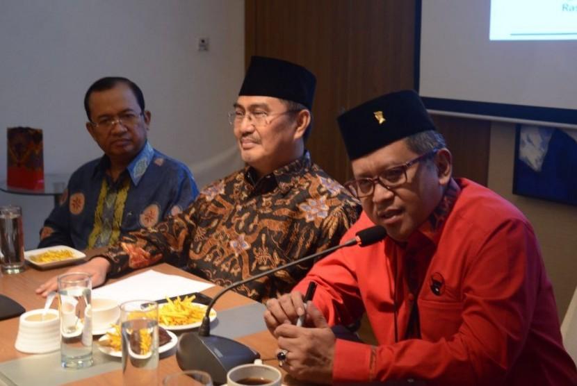 PDIP-ICMI Kerja Sama Perkuat Implementasi Pancasila
