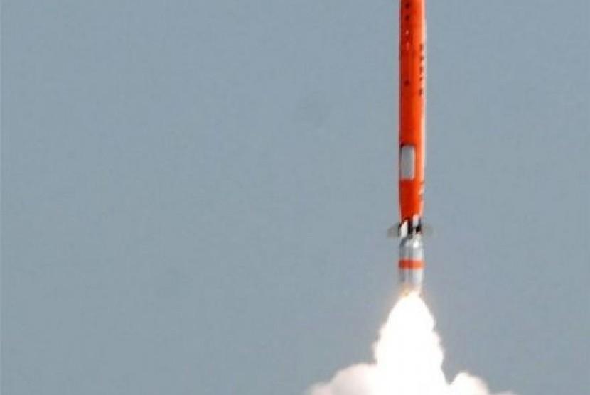 Rudal Pakistan yang berhasil diluncurkan berkekuatan nuklir