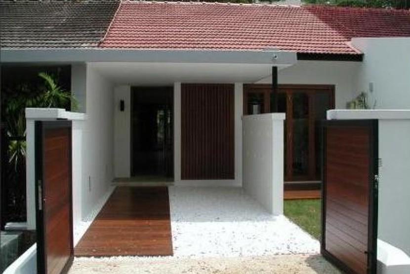 Rumah mungil/ilustrasi