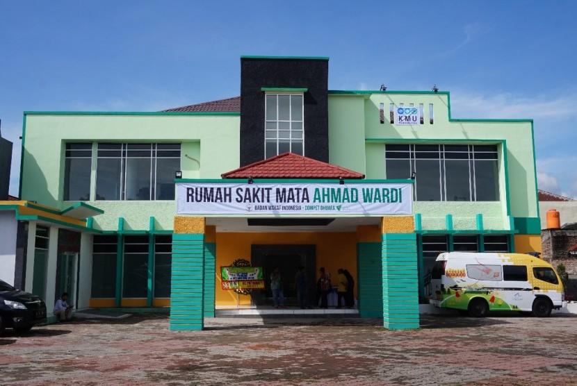 Rumah Sakit Mata Ahmad Wardi Badan Wakaf Indonesia - Dompet Dhuafa