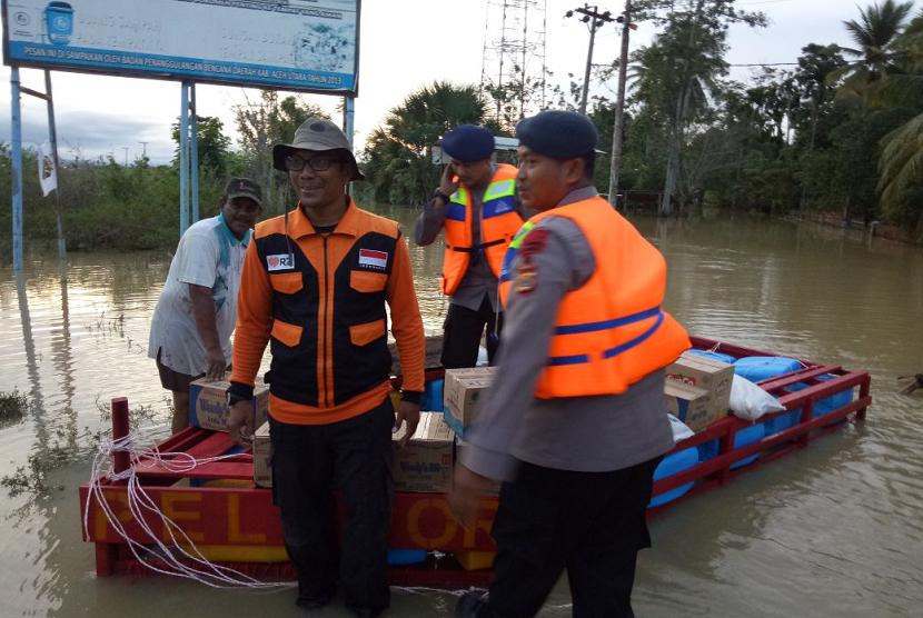 Rumah Zakat bantu korban banjir di Aceh Utara.