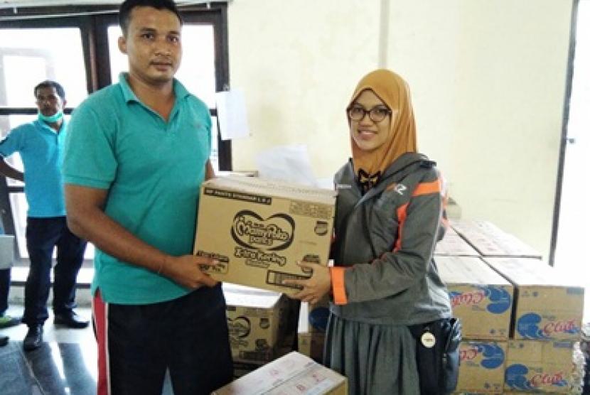 Rumah Zakat bantu korban bencana di Bali.