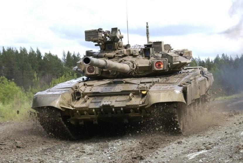 Tank canggih Rusia.