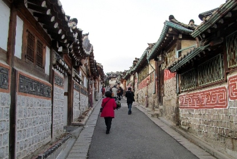 Rutinitas warga Korea