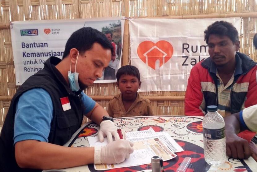 RZ Gelar Layanan Kesehatan untuk Pengungsi Rohingya