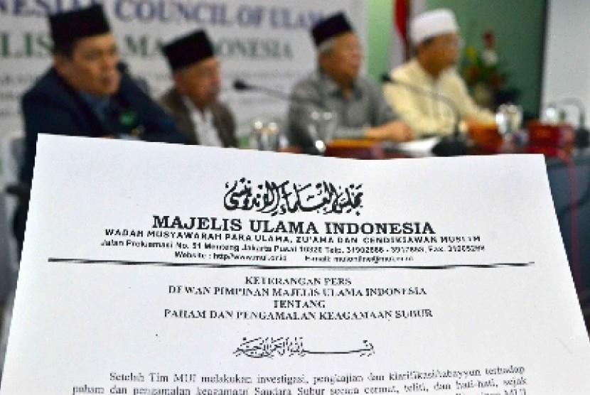 7 Rekomendasi Halaqah Nasional Ulama dan Cendikiawan