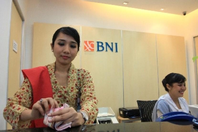 Salah satu kantor cabang BNI 46.