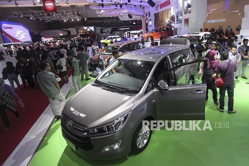 salah satu kegiatan pameran otomotif di Jakarta (Ilustrasi)