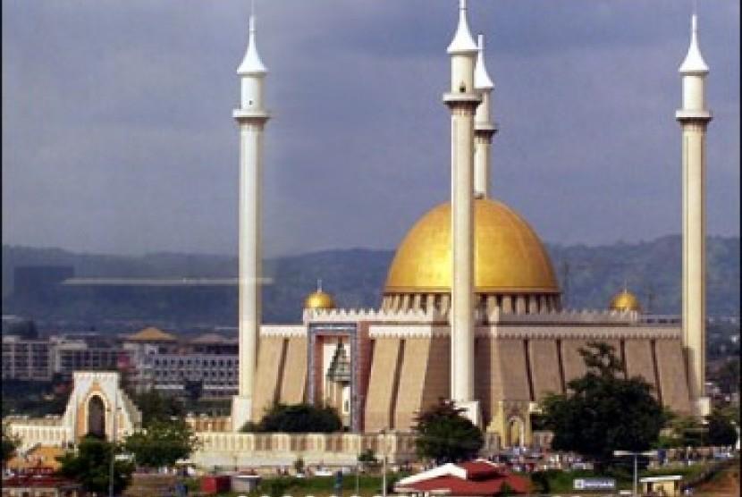 Salah satu masjid nasional Nigeria, Abuja