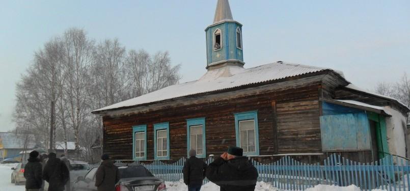 Salah satu masjid tua di Pedalaman Krasnoufimski yang berumur lebih 250 tahun