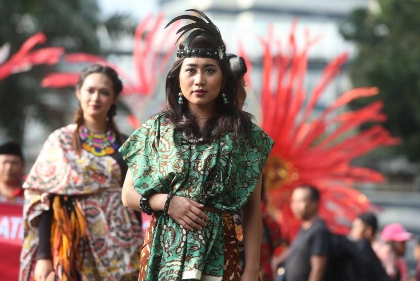Salah satu motif batik Maos khas Cilacap.