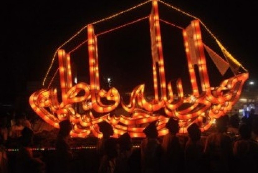Salah satu pawai takbiran untuk merayakan malam Idul Fitri (ilustrasi).