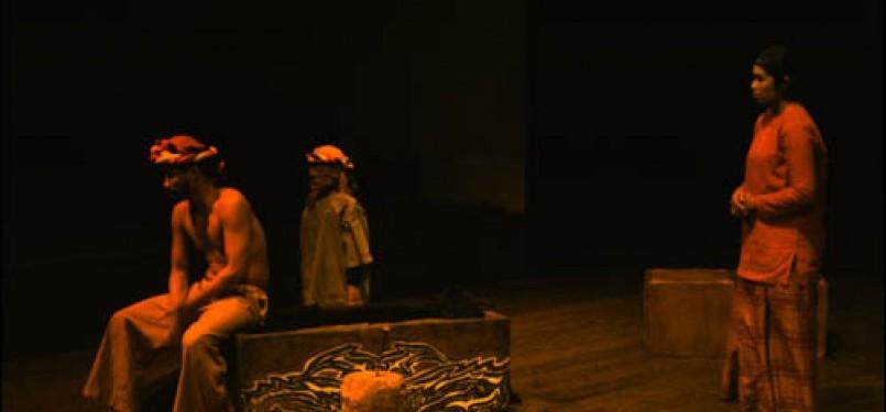 Salah satu pertunjukan Opera Batak (ilustrasi).
