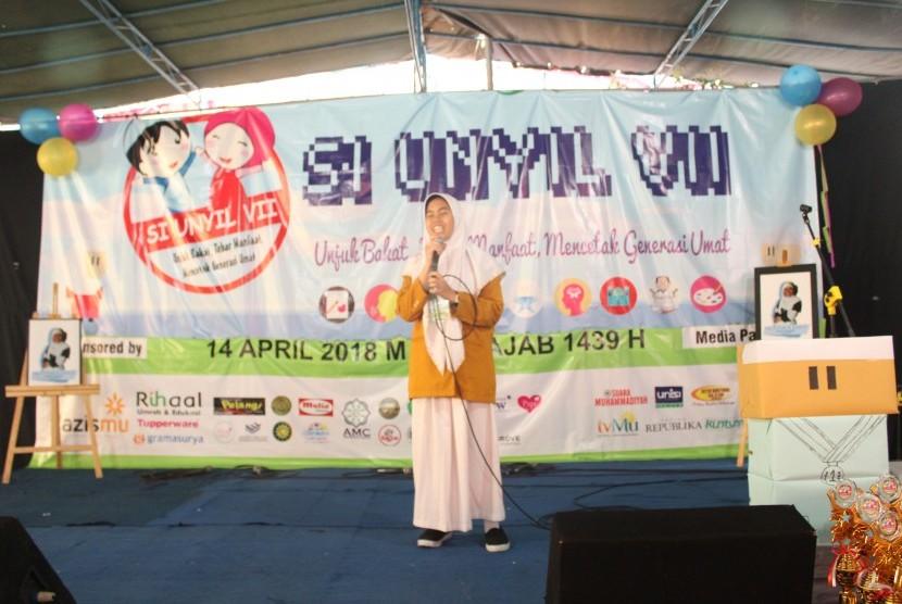 Salah satu peserta kegiatan Si UNYIL.