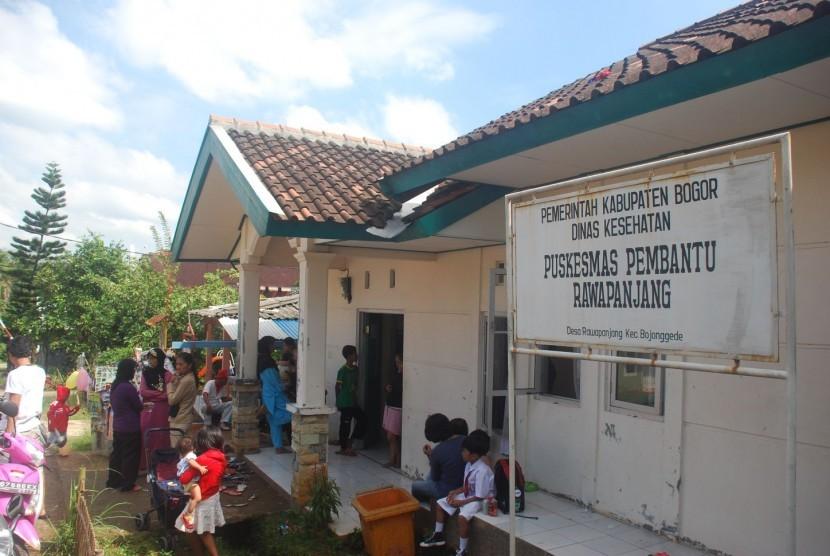 Salah satu Puskesmas di Bojonggede, Bogor.