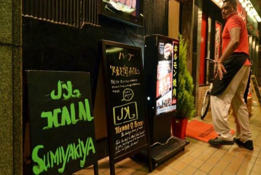 Salah satu restoran halal di Jepang