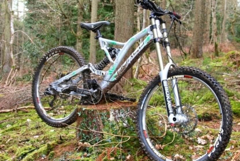 Salah satu sepeda gunung