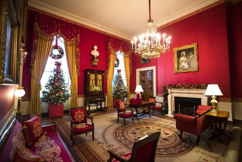 Trump Habiskan Rp 23,7 M untuk Dekorasi Ulang Gedung Putih