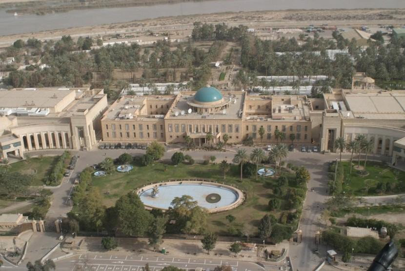 Salah satu sudut Kota Baghdad, Irak.