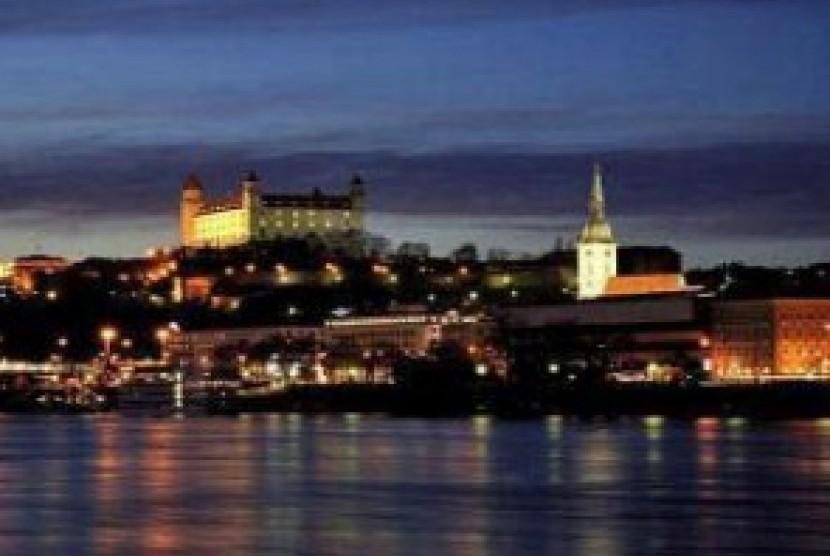 Salah satu sudut kota Bratislava, Slowakia. (ilustrasi)