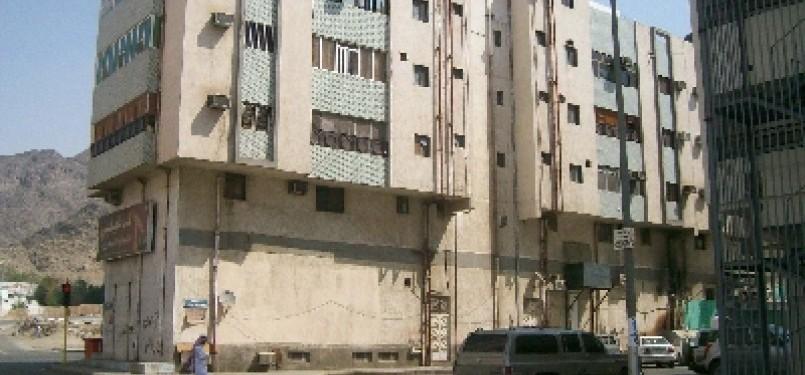 Salah satu sudut kota Makkah.