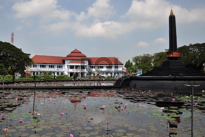 Salah satu sudut Kota Malang