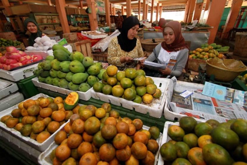 Pedagang Yogyakarta Canangkan Hari Bersih-Bersih Pasar
