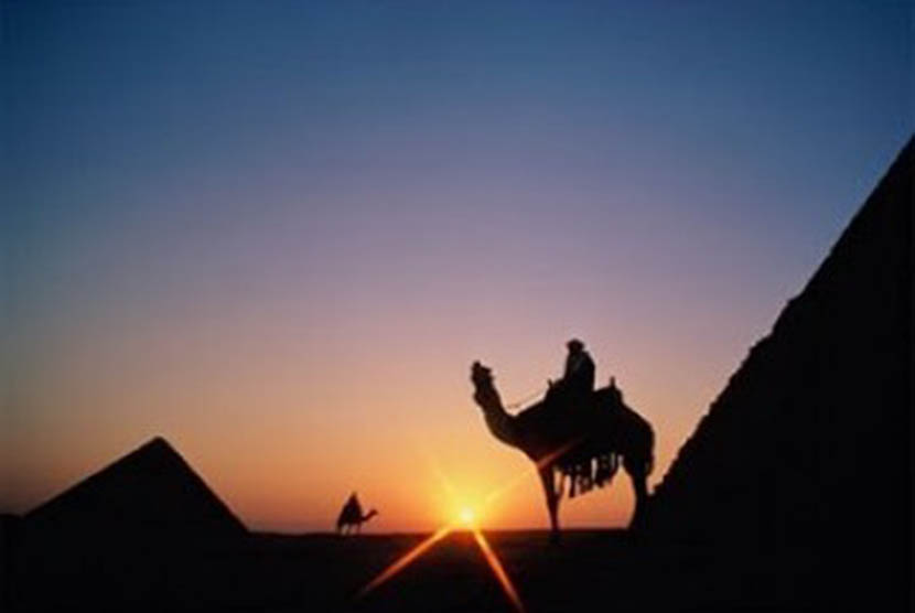 Salman al-Farisi melalui perjalanan panjang mencari kebenaran. (ilustrasi)