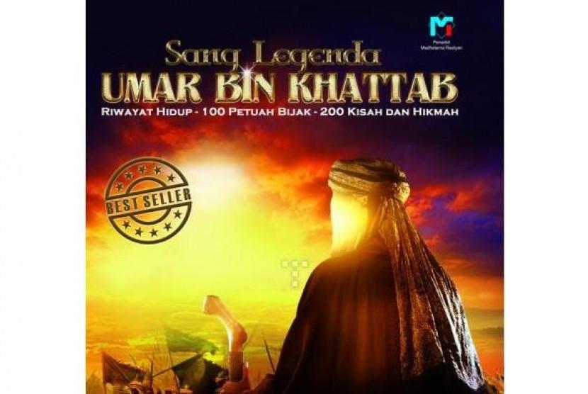 Sampul depan buku Sang Legenda Umar bin Khattab.