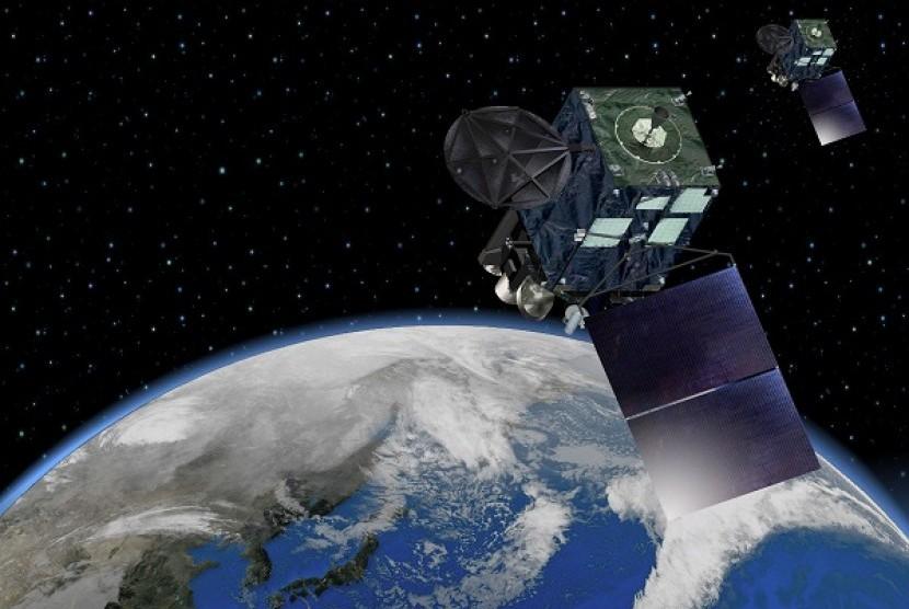 Satelit Himawari 9 yang diluncurkan oleh Jepang.