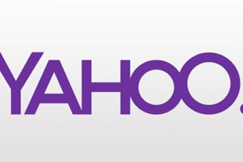 Satu dari 30 contoh logo Yahoo yang akan dibocorkan selama sebulan jelang rilis resminya.