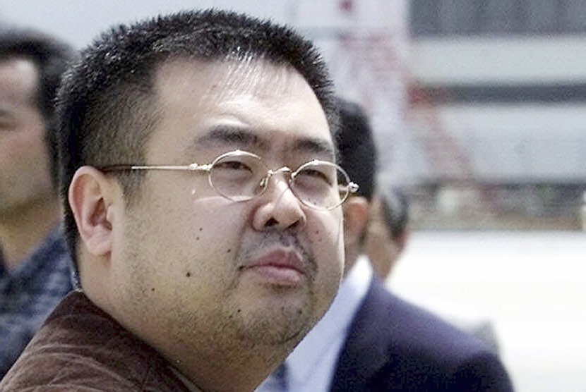 Kim Jong Nam, a half-brother of North Korean leader Kim Jong Un.