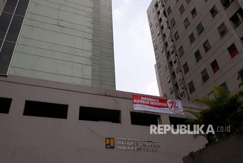 Rusunawa Jatinegara Barat, Jakarta Timur.