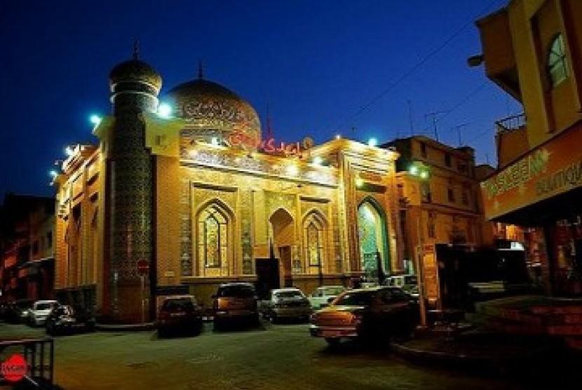 Sebuah masjid di Bahrain (Ilustrasi)