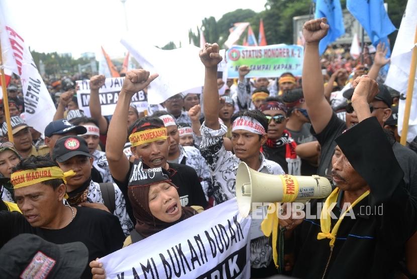 Rasa Di Depan Istana Merdeka Jakarta Rabu 102 Republikawihdan
