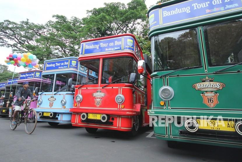 Pemkot Bandung akan Tambah 12 Bus Bandros untuk Wisatawan