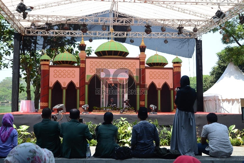 Musabaqah Tilawatil Quran Mahasiswa Nasional ( MTQMN). (ilustrasi).