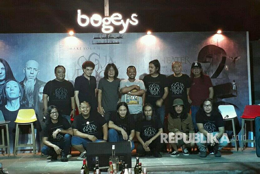 Tampil Beda, Erros Candra Main Death Metal di Jogjarockarta