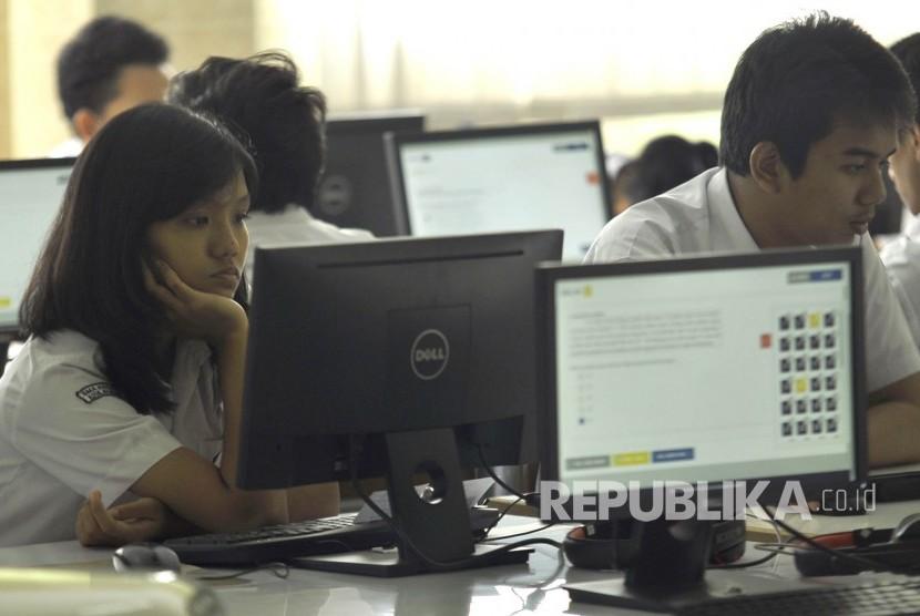 Komputer Dicuri Siswa Numpang Unbk Republika Online