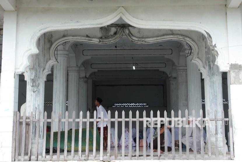 Masjid Tua 'Saksi Bisu' Tsunami Aceh