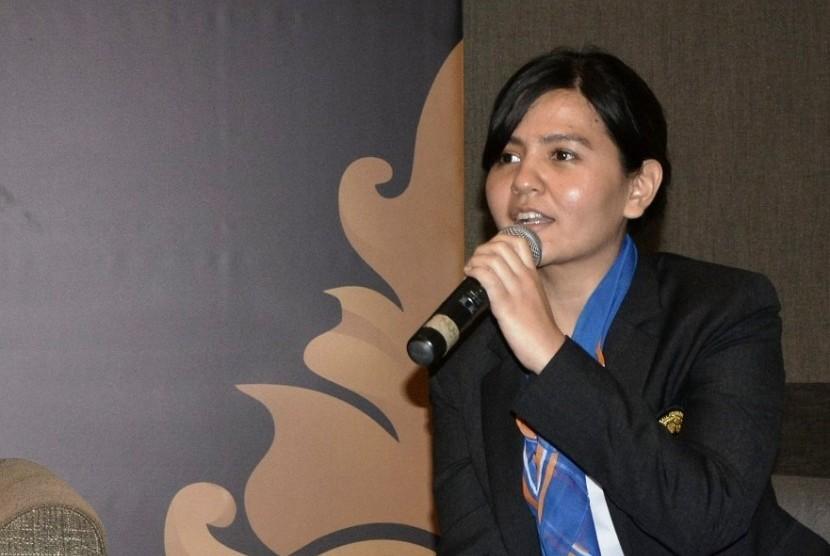 Sekjen PSSI Ratu Tisha Destria