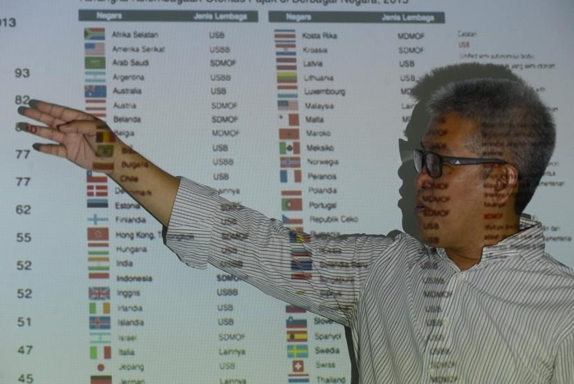 Sekjen Transperancy International Indonesia (TII) Dadang Trisasongko