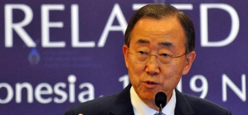 Sekjend PBB Ban Ki Moon