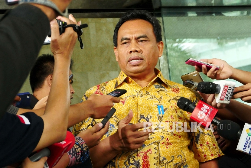Sekretaris Daerah DKI Jakarta Saefullah.