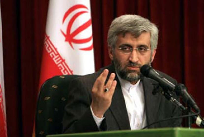 Sekretaris Dewan Tinggi Keamanan Nasional Iran, Saeed Jalili