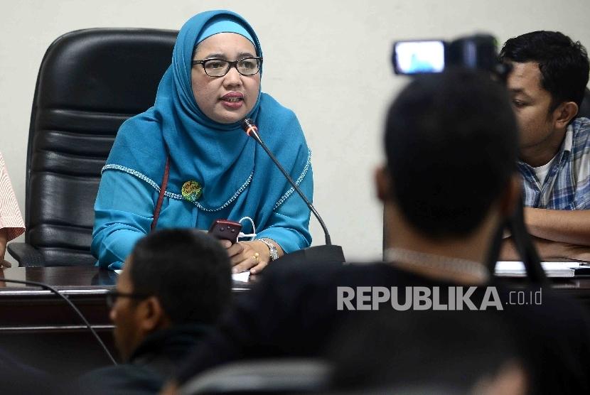 Sekretaris Jenderal Federasi Serikat Guru Indonesia (FSGI) Retno Listyarti