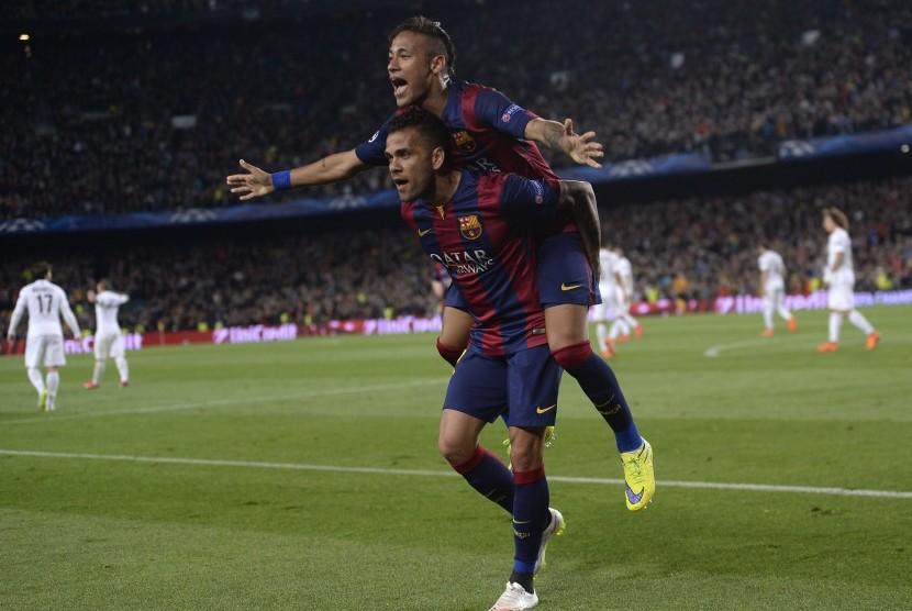Permalink to Dani Alves Bantah Pengaruhi Keputusan Neymar ke PSG