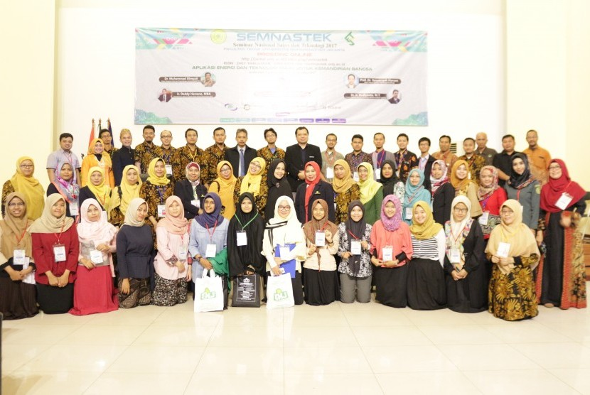 Seminar Nasional Sains dan Teknologi (Semnastek) Universitas Muhammadiyah Jakarta, Rabu (1/11).