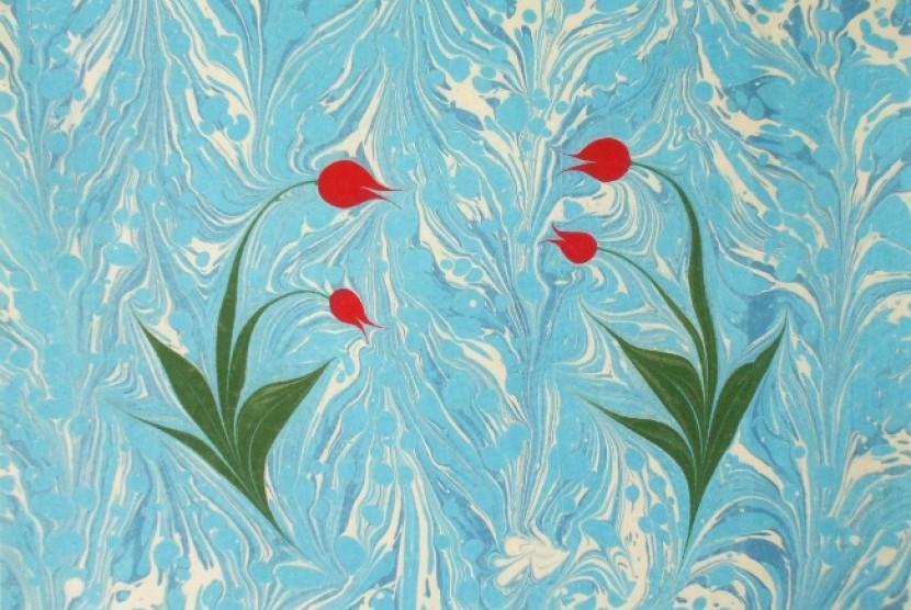 Seni lukis yang berkembang di dunia Islam ini diyakini berasal dari daratan Cina.