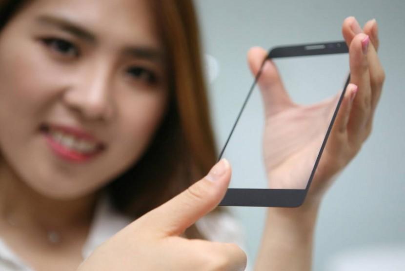 Sensor sidik jari pada LG